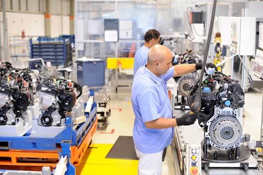 Fabricação da família EA211 conta com processos produtivos altamente tecnológicos