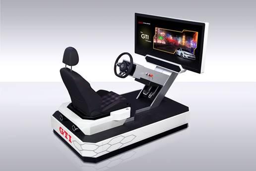 GTI Power Station: traz a experiência de dirigir o esportivo Golf GTI Station