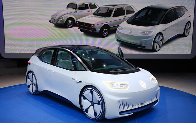 Apresentado no Salão de Paris, o Volkswagen I.D.